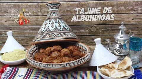 Tajine de albondigas con salsa arrabbiata #RecetasParaDummies