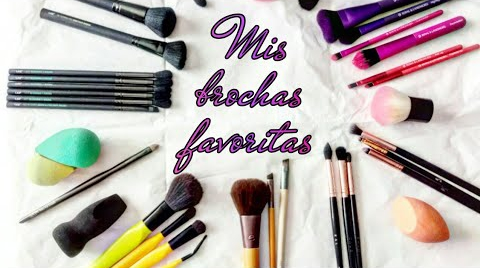 MIS BROCHAS FAVORITAS 2018   MAQUILLAJE A LA MEXICANA #FASHIONTIPS ##FashionTip