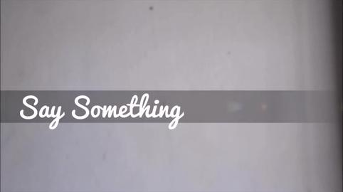 Say Something Cover-Español