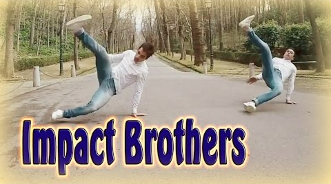 Amazing fusion of acrobatics and dance || Impact Brothers - Granada Blast