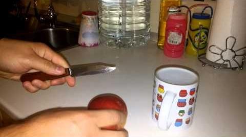 Como afilar un cuchillo en un pis pas mi vídeo en la campaña #IdeasConPremio