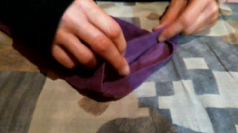 Arreglo rápido del bajo del pantalón margaritacastanogarcia, mi vídeo en la campaña #IdeasConPremio