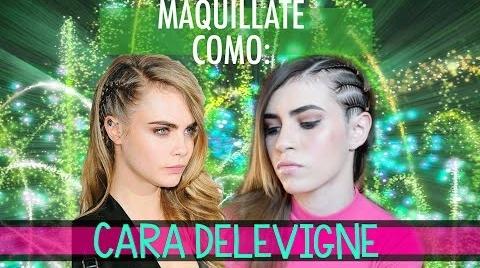 Maquíllate como: CARA DELEVIGNE #Instyle Makeup