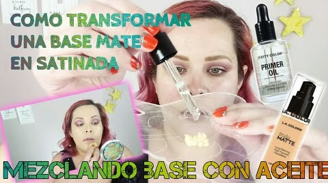 TRANSFORMA TU BASE DE ACABADO MATE EN SATINADA • ¿COMO FUNCIONA ÉSTA...?   MAQUILLAJE A LA MEXICANA ##FashionTip