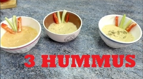 3 tipos de hummus #RecetasParaDummies