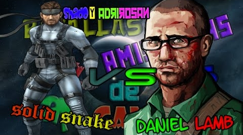 DANIEL LAMB VS SOLID SNAKE l SHADO Y ROSAN