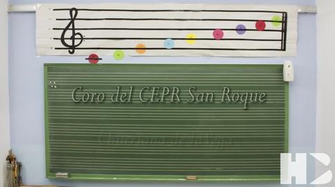 El coro del CEPr San Roque de Churriana de la Vega canta el Himno de Andalucia #28f