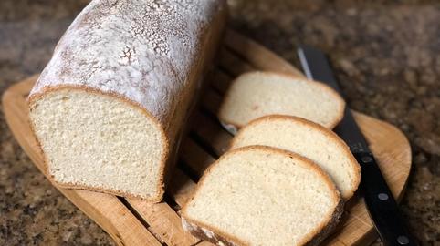 Pan de leche y mantequilla