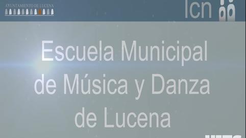 Escuela Municipal de Musica y Danza de Lucena en Navidad_YO TAMBIEN CANTE EL VILLANCICO DE CANAL SUR