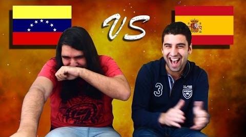 Venezuela vs España: LA COMPETENCIA!!