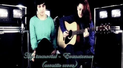 My immortal - Evanescence (Official video) cover by Argaali #MiMejorCover