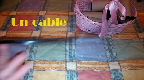 Organiza tus cables de manera FÁCIL y ORIGINAL con rollos de papel.mi vídeo en la campaña #IdeasConPremio