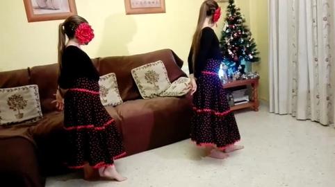 Irene y Lola, Yo también bailé el villancico de Canal Sur