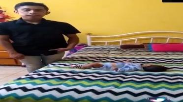 Como ayudar a tu bebé a sacar el aire #academiaparapapas