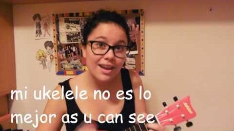 Mi primera cover en ukelele♡ All Star #HitsbookMúsica