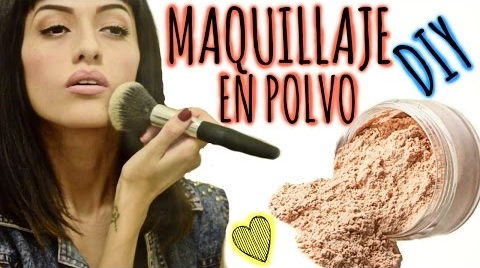 DIY: Maquillaje en polvo / Polvo suelto.♥