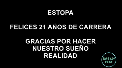 ESTOPA FELICES 21 AÑOS #EstopaChallenge