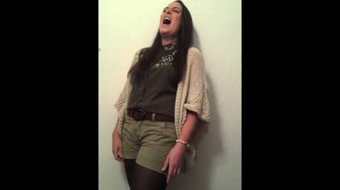 Cristina Conileña - Poker Face (Glee version) Cover