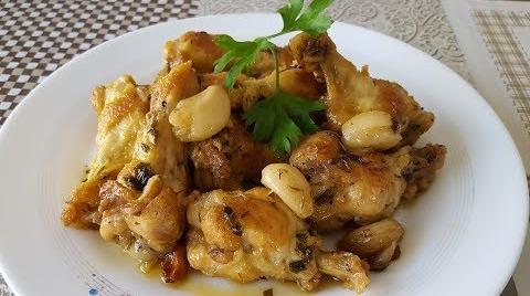 Riquísimo Pollo al Ajillo | Fácil de hacer | Cocina con Rock #RecetasParaDummies