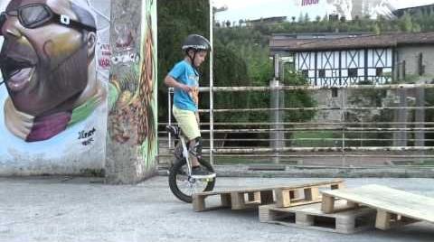 Trial con monociclo