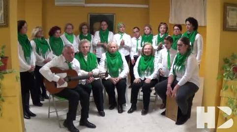 Himno  Andalucia, cantado por el coro voces de nuestro barrio de Jerez de la Frontera