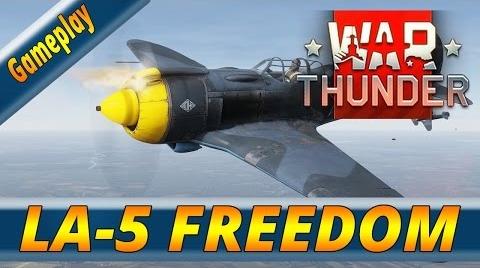 WAR THUNDER ESPAÑOL | LA-5 | FREEDOM
