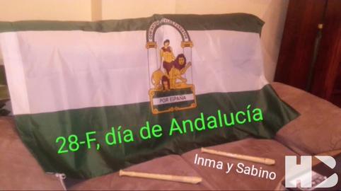 Himno de Andalucia desde Peligros (Granada), Sabino e Inma #28f