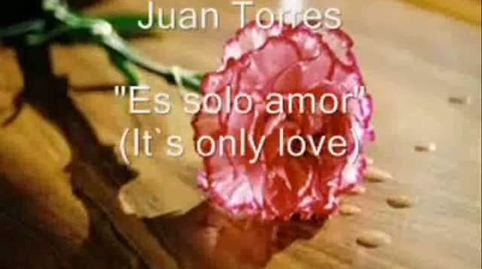 Es solo amor (Its only love)