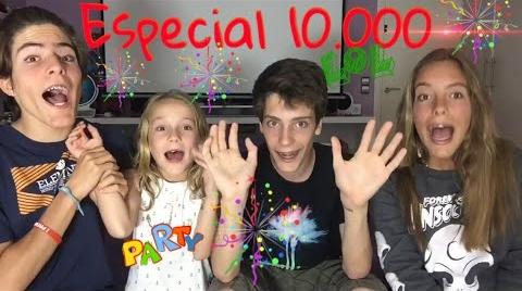 Especial 10.000 con mis hermanos (Trillizos0201)