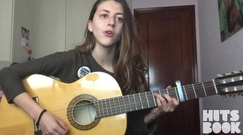 "Ainhoa Pérez, cover de ""El mundo"" de Pablo López #HitsbookMúsica"
