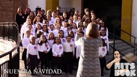 """""""Navidad en Canal Sur"""" Coro Mamá Margarita Salesianos Linares"""
