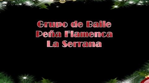 """Villancico Peña Flamenca """"La Serrana""""  Cazalla de la Sierra 2014"""