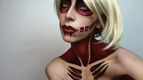 Halloween Makeup: Female Titan Attack on Titan Makeup Tutorial