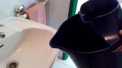 rellenar cubo de agua, mi vídeo en la campaña #IdeasConPremio