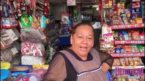 Esmeralda #comerciantescongarra