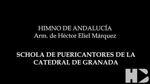 Himno de Andalucia SCHOLA PUERI CANTORES DE LA CATEDRAL DE GRANADA #28f