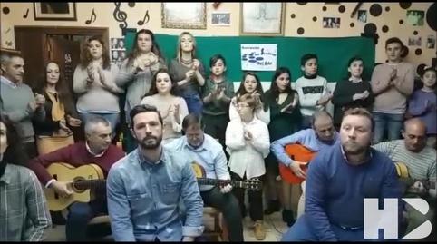 La Asociacion Cultural Senderos del Arte canta Andalucia #28f